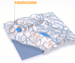 3d view of Padangsarai