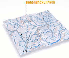 3d view of Ban Daen Chumphon