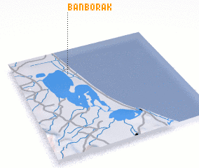 3d view of Ban Bo Rak