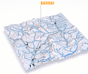 3d view of Ban Mai