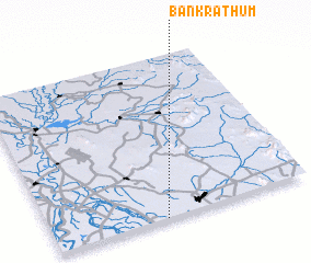 3d view of Ban Krathum