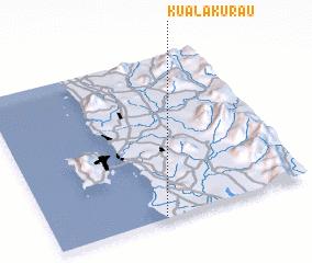3d view of Kuala Kurau