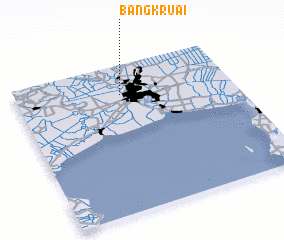 3d view of Bang Kruai