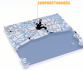 3d view of Samphanthawong