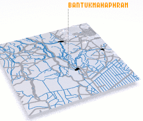 3d view of Ban Tuk Maha Phram
