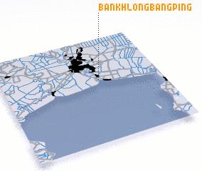 3d view of Ban Khlong Bang Ping