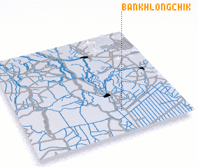 3d view of Ban Khlong Chik