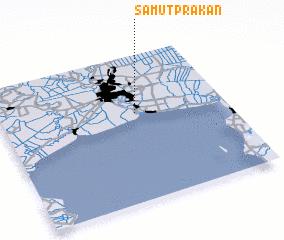 3d view of Samut Prakan