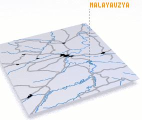 3d view of Malaya Uzya