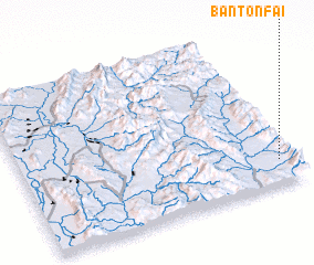 3d view of Ban Ton Fai