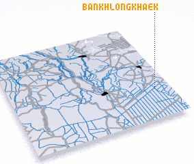 3d view of Ban Khlong Khaek