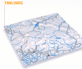 3d view of Tha Luang
