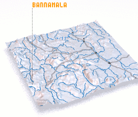 3d view of Ban Na Mala