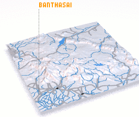 3d view of Ban Tha Sai