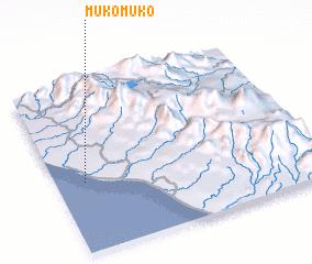 3d view of Mukomuko