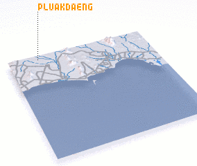 3d view of Pluak Daeng