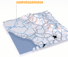 3d view of Kampong Gemuroh