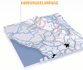 3d view of Kampong Kelumpang