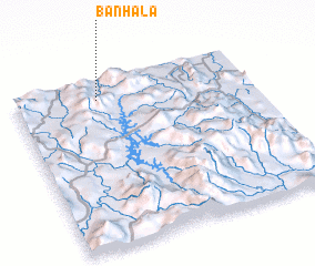 3d view of Ban Ha La