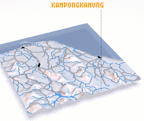 3d view of Kampong Kamung