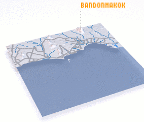 3d view of Ban Don Makok
