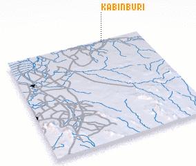 Kabin Buri (Thailand) map - nona.net on