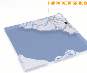 3d view of Kampong Sungai Merab