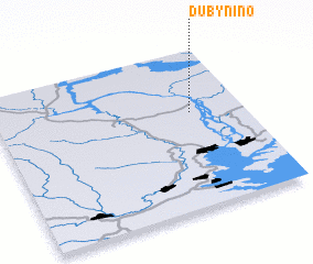 3d view of Dubynino