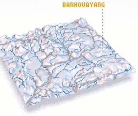 3d view of Ban Houay Ang
