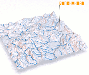 3d view of Ban Khôkman