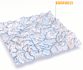3d view of Ban Paksi