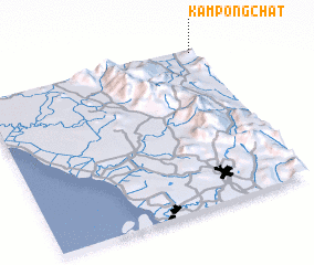 3d view of Kampong Chat