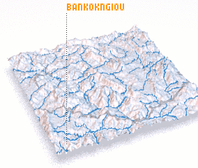 3d view of Ban Kôkngiou