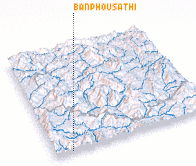 3d view of Ban Phousathi