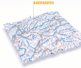 3d view of Ban Pho Pou