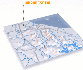 3d view of Kampong Setol