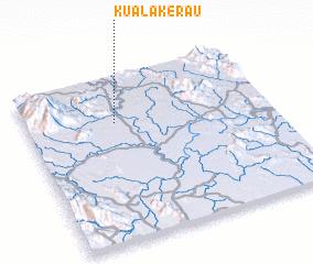 3d view of Kuala Kerau