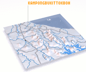 3d view of Kampong Bukit Tok Boh