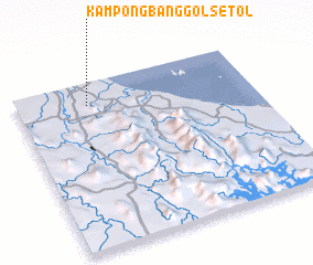 3d view of Kampong Banggol Setol