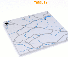 3d view of Tanguty
