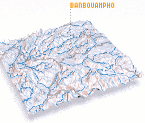 3d view of Ban Bouampho