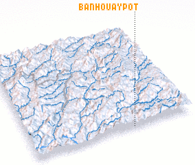 3d view of Ban Houaypôt