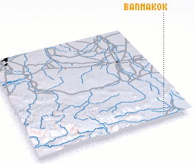 3d view of Ban Makok