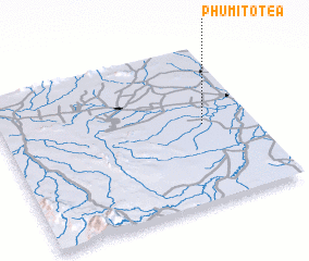3d view of Phumĭ Tôtéa