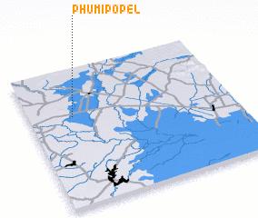 3d view of Phumĭ Pôpél