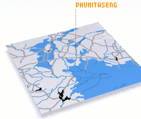 3d view of Phumĭ Tasêng