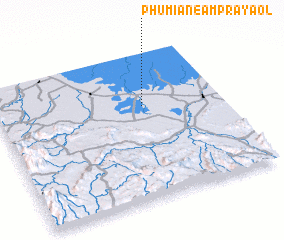 3d view of Phumĭ Anéam Prâyaôl