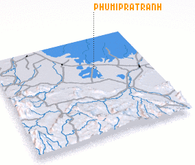 3d view of Phumĭ Prâtrănh