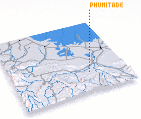 3d view of Phumĭ Tadé