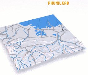 3d view of Phumĭ Léab